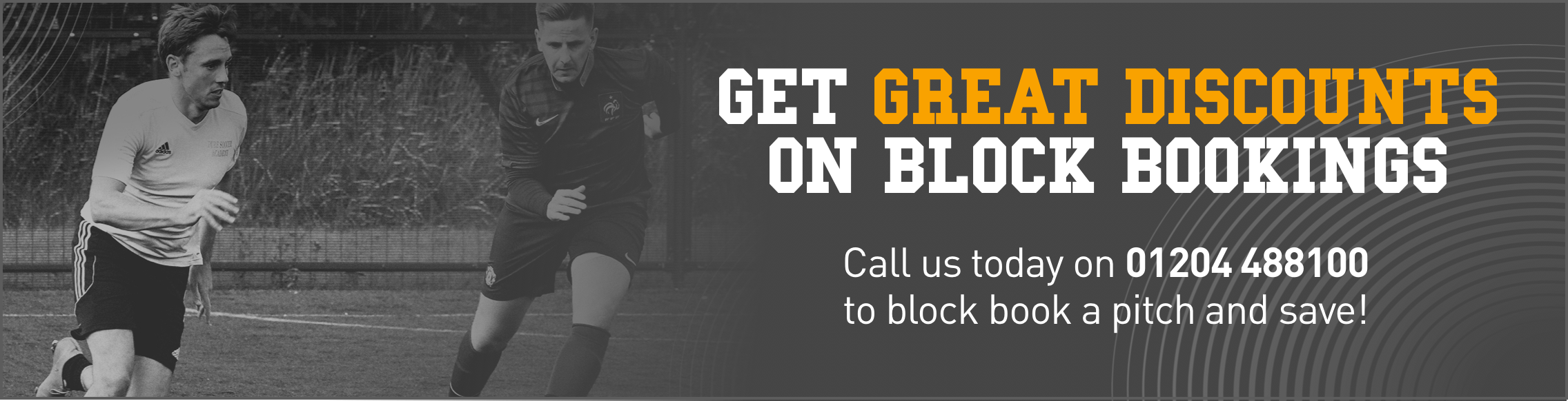 Get great discounts on block booking